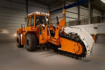 Manufacture of tractor and trencher