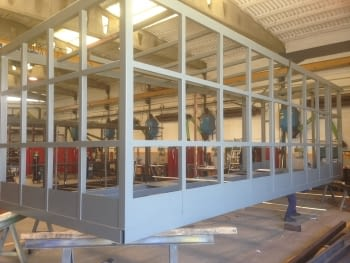 Construction of ticket office units for the Sagrad