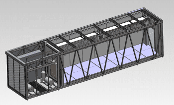 Design and manufacture of a tunnel freezer