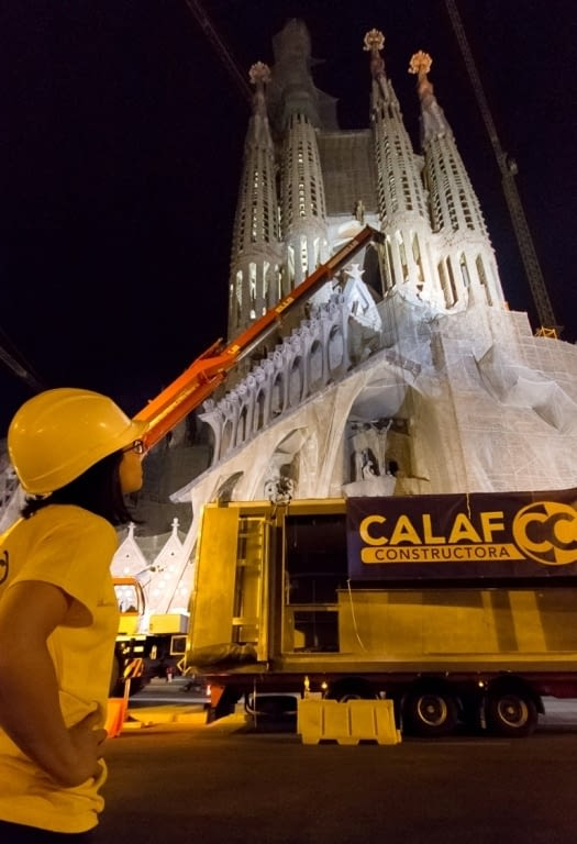 Calaf Industrial manufactures and installs the new Sagrada Familia box office